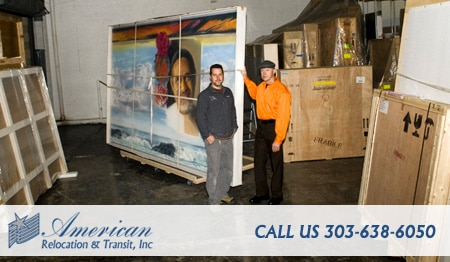 Fine art moving company in Denver